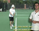 Step 2 Tennis Two Handed Backhand Racket Back