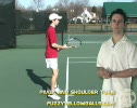 Step 1 Tennis Slice Backhand Pivot and Should
