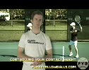 Tennis Footwork Control your Contact Height