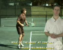 Tennis Forehand Wrist at Contact