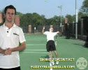 Step 8 Tennis Serve Swing to Contact