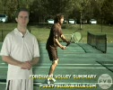 Step 3 Tennis Forehand Volley Summary